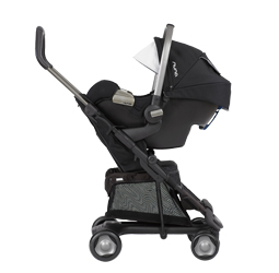 Nuna Pip being used in a Travel System