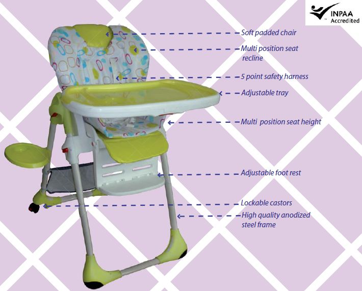 Babyood Bon a Petite High Chair