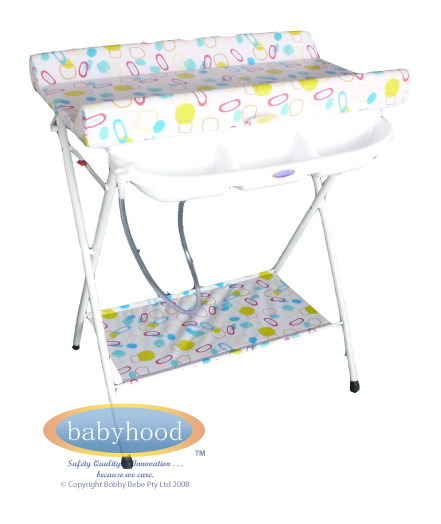 Baby Change Station | babyhood Compactum Bath and Change Table