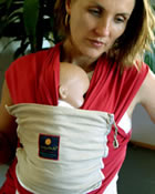 Click on picture to enlarge - Hug a Bub Baby Sling / Baby Carrier