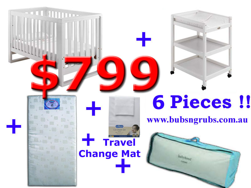 click to enlarge Bertini Miko Cot Package Deal
