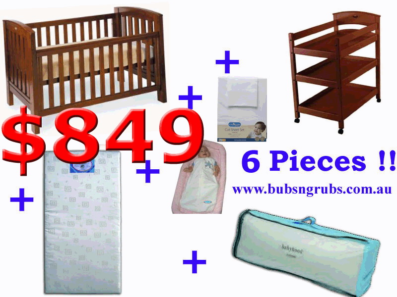click to enlarge Renaissance Cot Package Deal