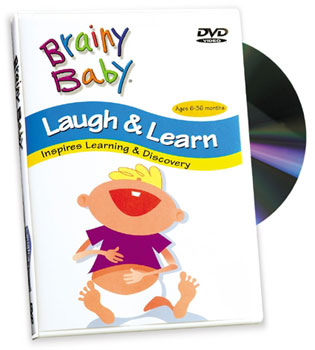 Brainy baby. Laugh & learn. (VHS tape, 2004) [WorldCat.org]