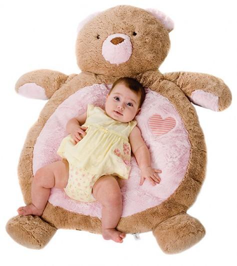 Fuzzy Factory Soft Baby Mat Bear Bubs N Grubs