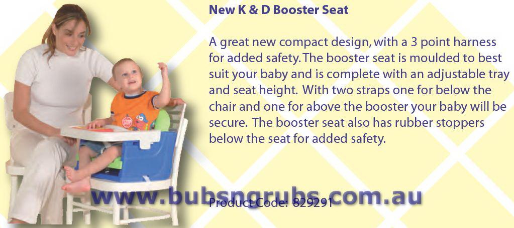 K & D Booster Chair