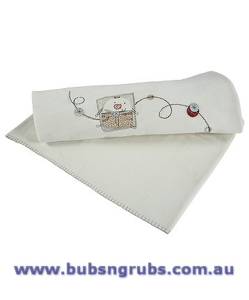 Mamas And Papas Fleece Pram Blanket Jamboree Bed