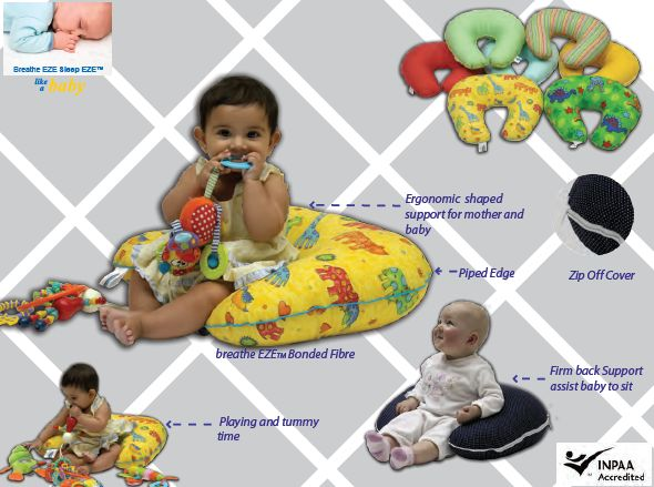 babyhood 2 in 1 Nursing Pillow