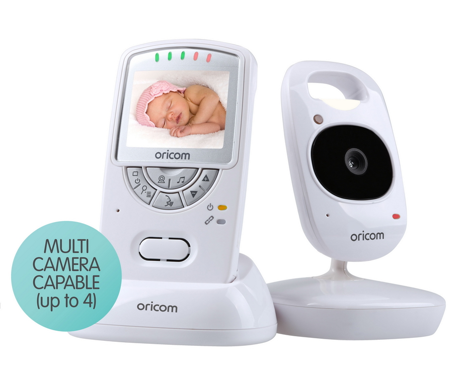 oricom babysense 2 infant breathing movement sc710 digital video baby monitor. Black Bedroom Furniture Sets. Home Design Ideas