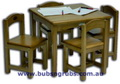 Click on picture to enlarge - Playing Table and Chairs