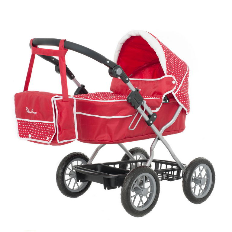 Click on picture to enlarge - Silver Cross Junior Ranger Dolls Pram