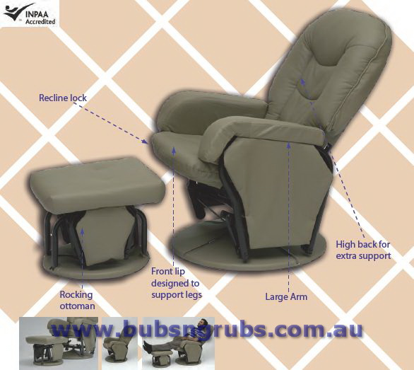 Glider Chairs From 297 Babyhood Sovereign Glider