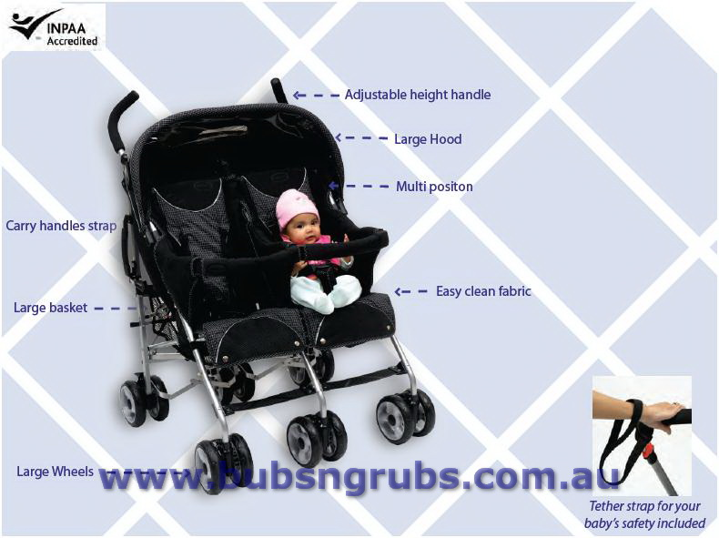 Twin Prams And Twin Baby Strollers Tandem Baby Prams