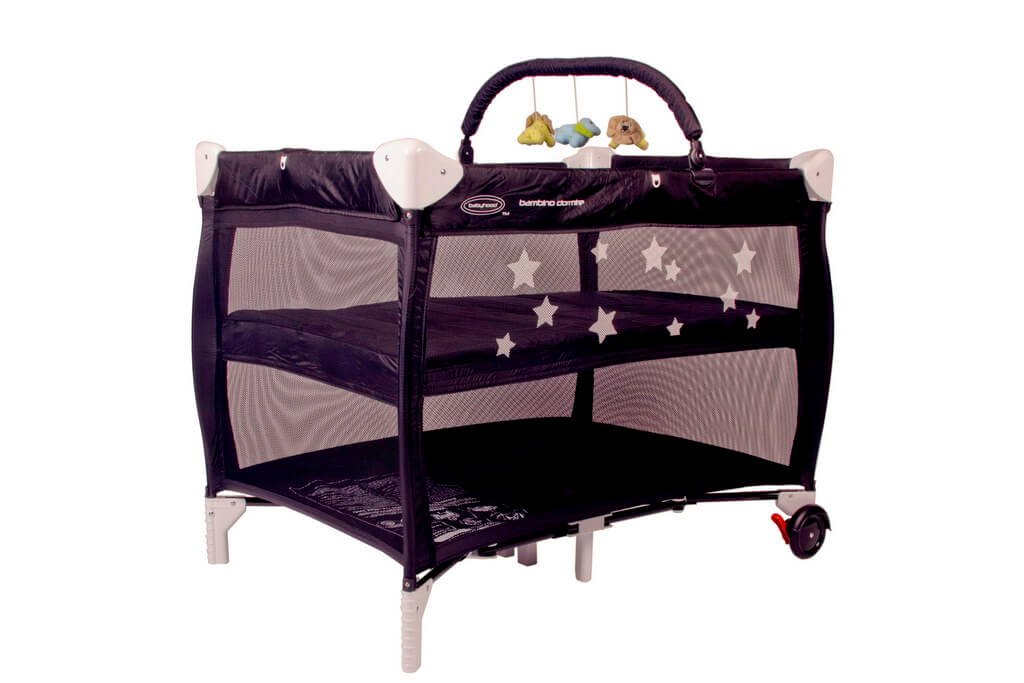 Dormire Portacot Black Optional Toy Bar