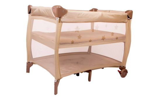 Babyhood Bambino Dormire Portacot Latte Bassinet Level