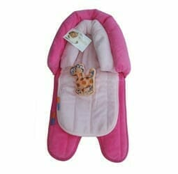 Babyhood 2 in 1 Head Support Pink