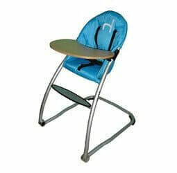Babyhood Home Range High Chair Turquoise