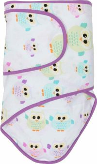 miracle blanket Owls Wtih Purple Trim