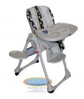 Babyhood Bon a Petite High Low Chair Zebra