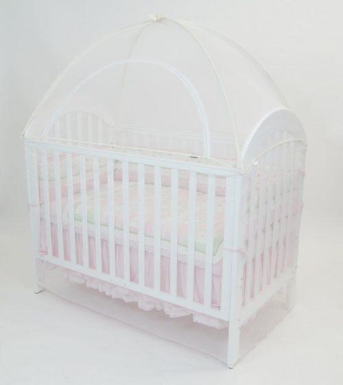 Babyhood Cot Canopy Net Cream