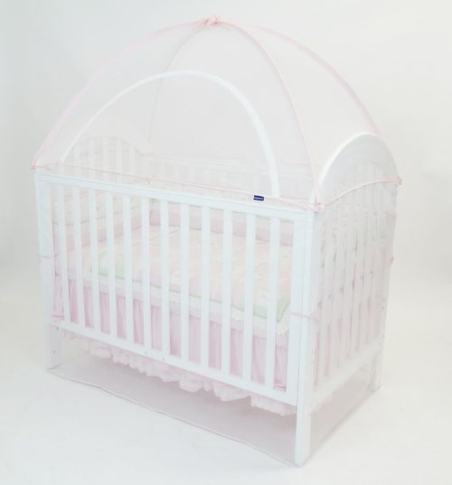 Babyhood Cot Canopy Net Pink