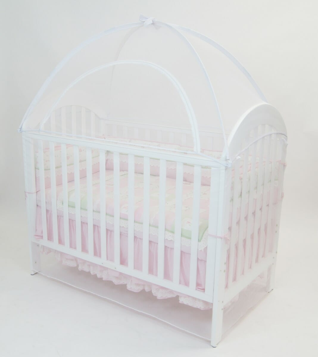 Babyhood Cot Canopy Net White