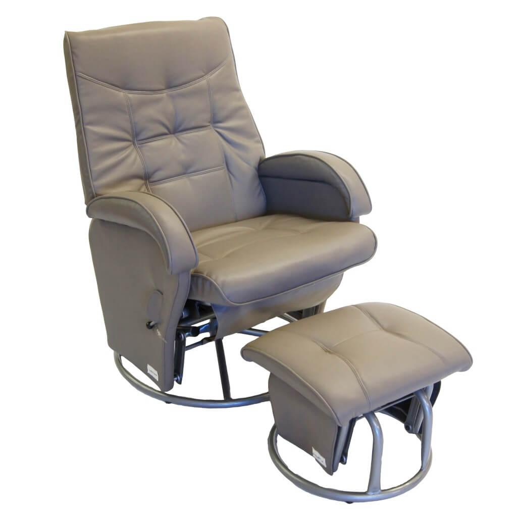 Babyhood Diva Glider Chair With Ottoman Bubs N Grubs