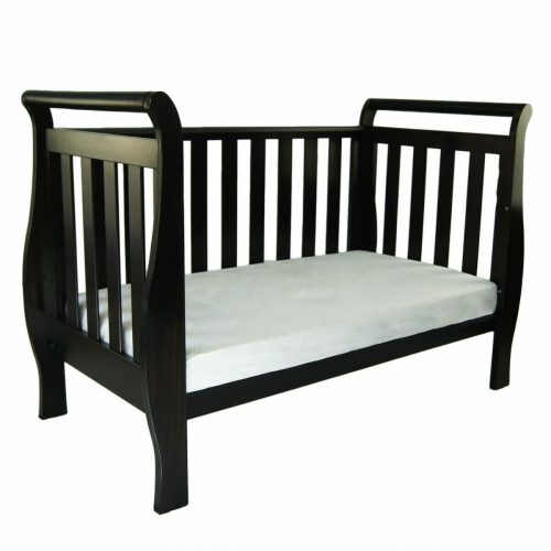 Babyhood Georgia Sleigh Cot English Oak Day Bed