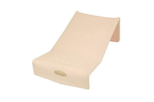 Babyhood Terry Towelling Bath Support - Pink Stripes
