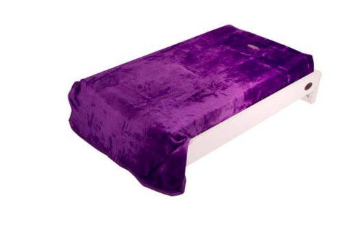 Change Mat Cover Purple