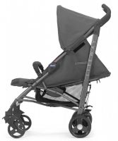 Chicco LiteWay 2 Stroller Coal Recline