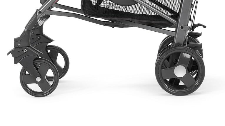 Chicco LiteWay 2 Stroller Coal Wheels
