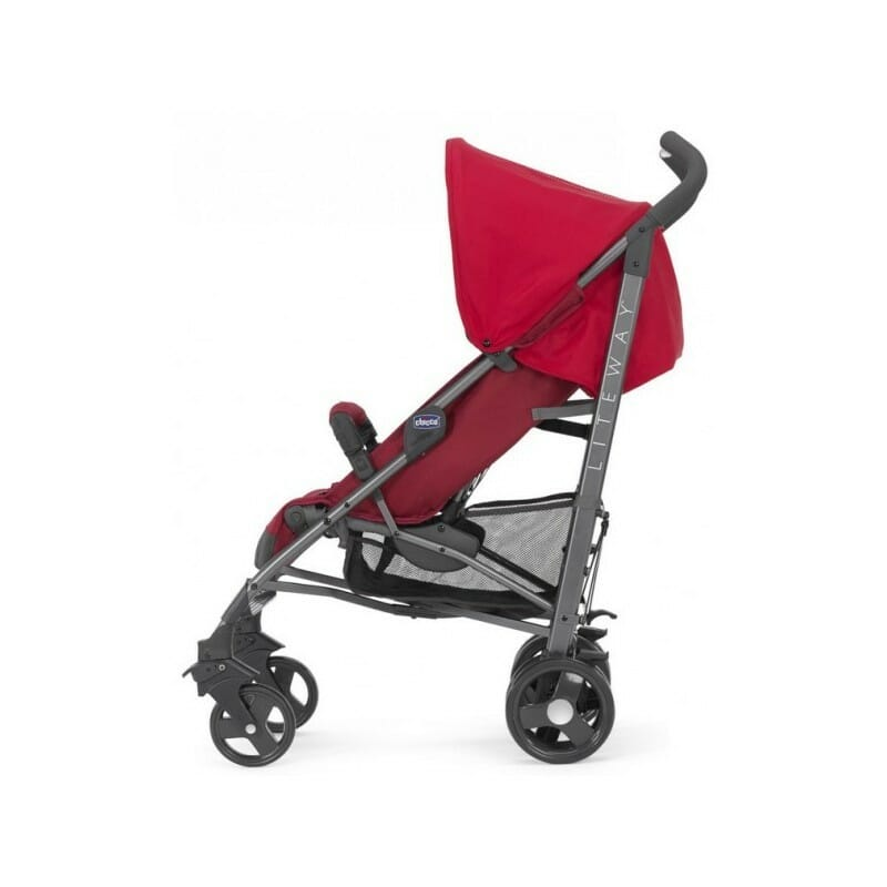 Chicco LiteWay 2 Stroller Red Side