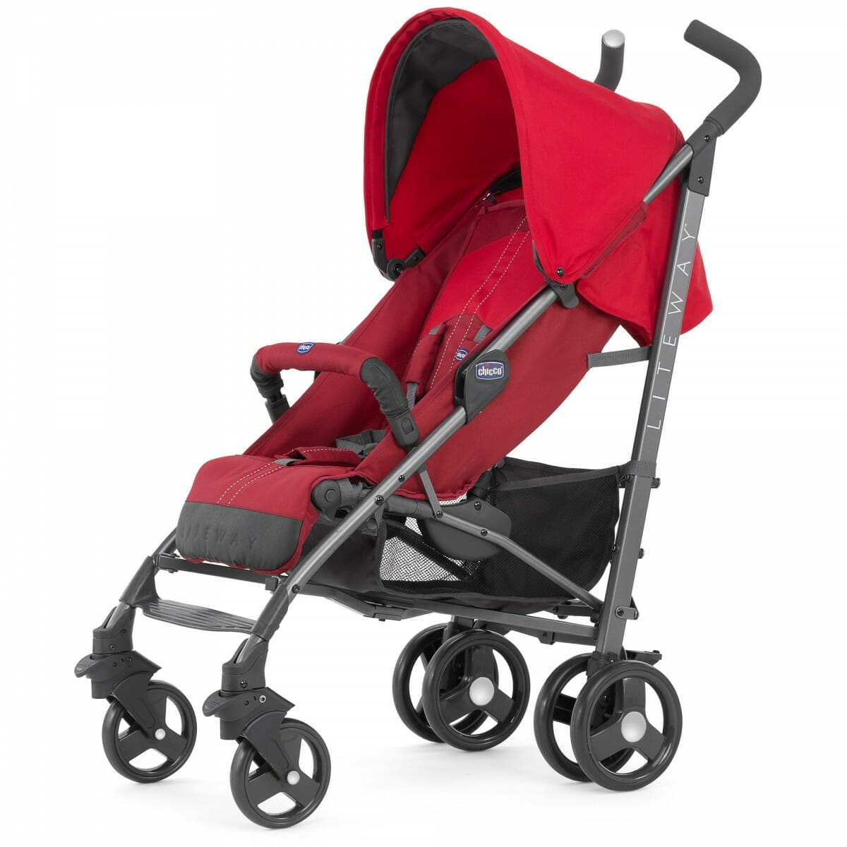 Chicco LiteWay 2 Stroller Red Hero