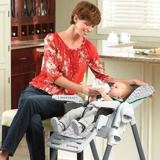 Chicco Polly Double Phase High Chair Empire Full Recline