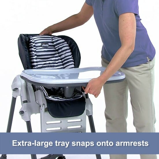 Chicco Polly Double Phase High Chair Equinox Tray