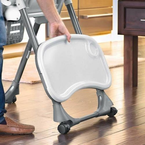 Chicco Polly Double Phase High Chair Empire Tray Storage