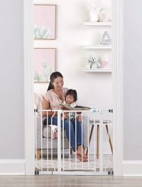 Regalo Easy Step Gate Extra Wide Closed 2