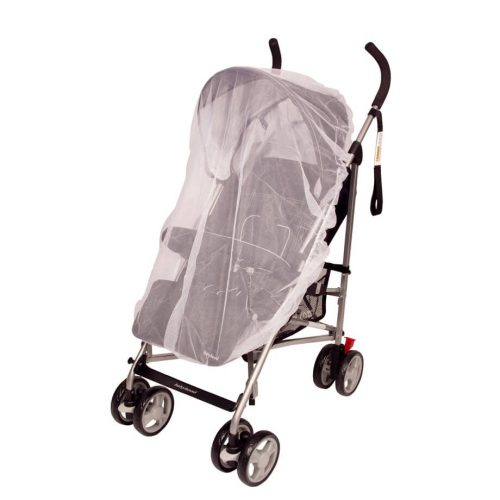 Universal Fitted Nets for Bassinettes Strollers and Prams White