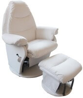 Babyhood Vogue Glider Chair White