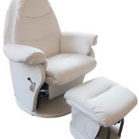 Babyhood Vogue Glider Chair White