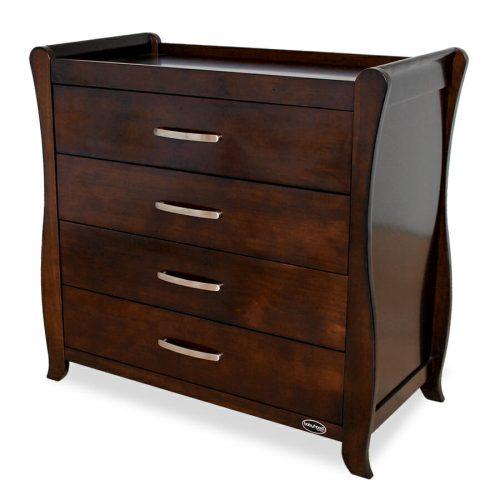 Babyhood Classic Sleigh Dresser Walnut