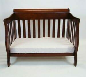 Babyhood Amani Sleigh Cot as Sofa