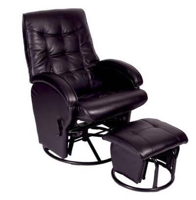Attractive Babyhood Diva Glider Chair Black