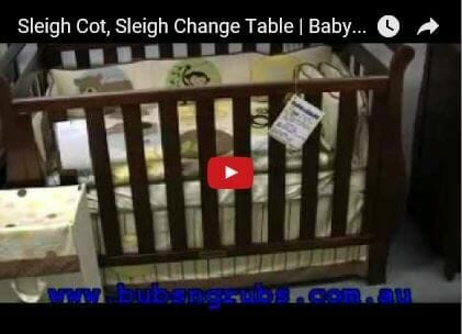 babyhood georgia sleigh video review