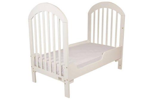 Babyhood Luna Cot White