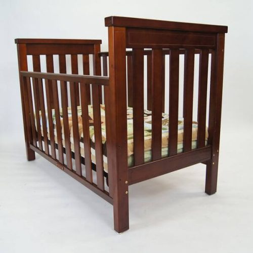 Babyhood Milano Cot From an Angle
