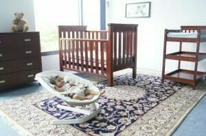 Babyhood Milano Cot & Change Table