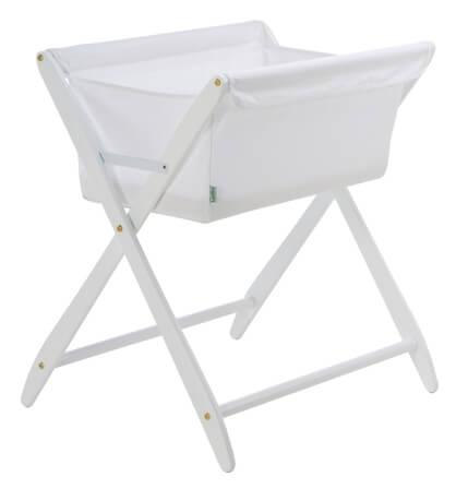 Cariboo Folding Bassinet White