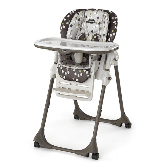 Chicco Polly Double Phase High Chair Elm