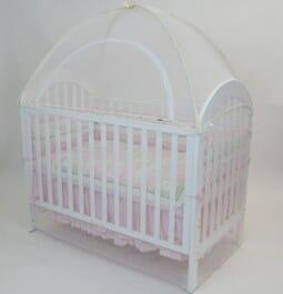 Cot Canopy Net Cream